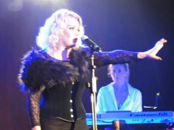 Kim Wilde live at O2 Academy, Sheffield (UK), October 4, 2013
