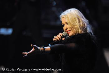 Kim Wilde live in Birmingham on December 19, 2013. Photo © Katrien Vercaigne