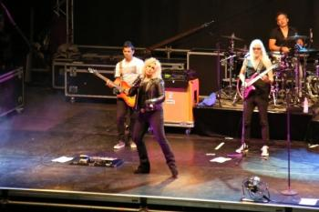 Kim WIlde live at Seebad Lido am Kalterer See, Kaltern (Italy), August 5, 2014