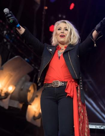 Kim Wilde live at Capesthorne Hall, Cheshire (UK), August 5, 2017