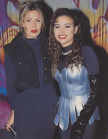 With Anita Doth (2 Unlimited), 1993