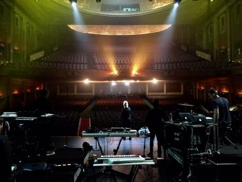Back at The Palais Theatre St Kilda Melbourne tonight