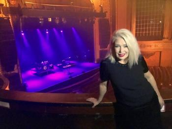 Calm before the storm , the beautiful Palais Theatre, Melbourne (November 12)