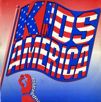'Kids in America' single cover