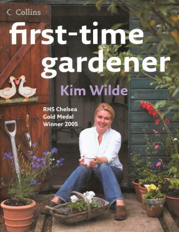 'First-time gardener' book cover
