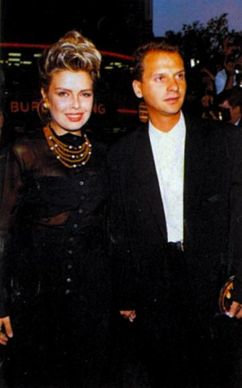 Kim Wilde and Calvin Hayes, 1989