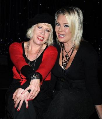 With Hazel O'Connor, 2009