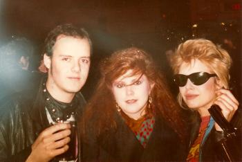 With Kirsty MacColl, 1982