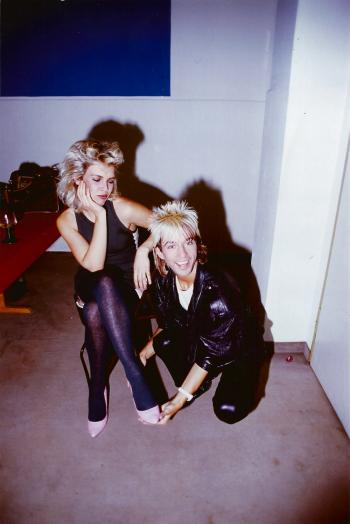With Limahl, 1983