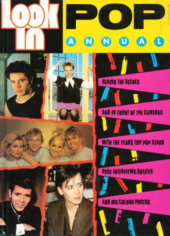 'Look-In Pop Annual' book cover