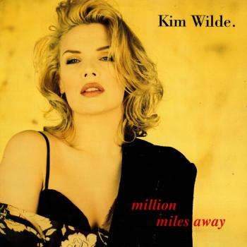 'Million miles away' single sleeve