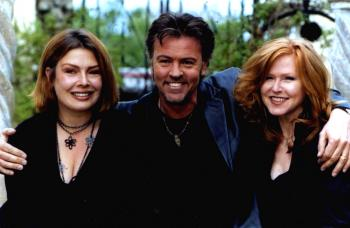 With Paul Young and Carol Decker, 2001