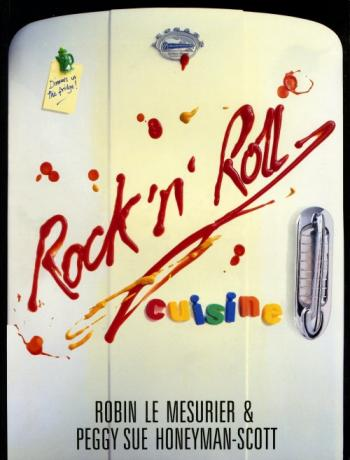 'Rock 'n' Roll Cuisine' book cover