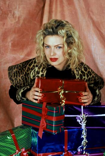 1992: Christmas photo for a French magazine