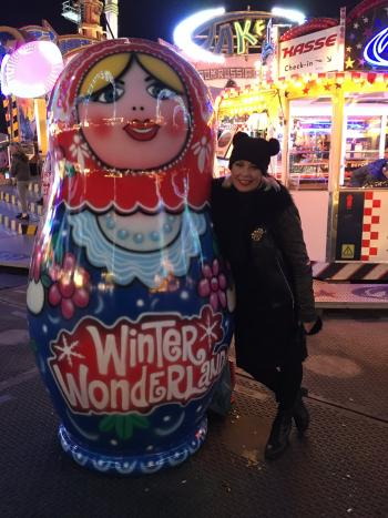 2016: Christmas countdown at Winter Wonderland, Hyde Park, London