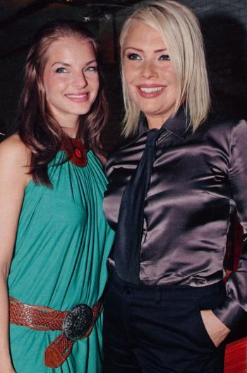 With Yvonne Catterfeld, 2006
