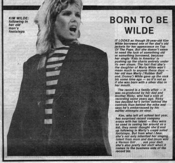 Record Mirror (UK), March 5, 1981