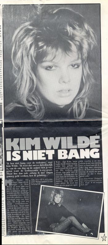 Popbiz (Netherlands), October 1981