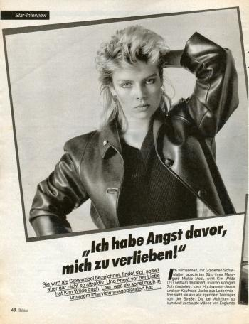 Mädchen (Germany), March 3, 1982