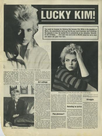 Music (UK), June 1982
