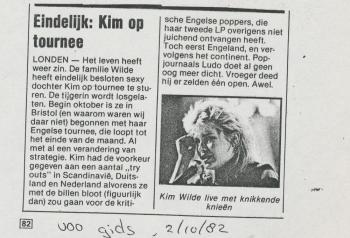 Veronica (Netherlands), October 2, 1982