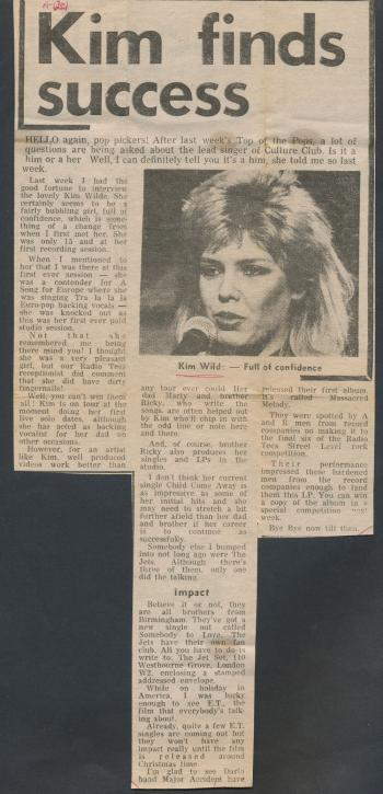 Darlington Evening Despatch (UK), October 15, 1982