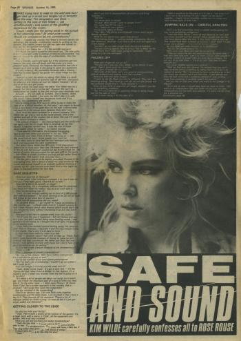 Sounds (UK), October 16, 1982