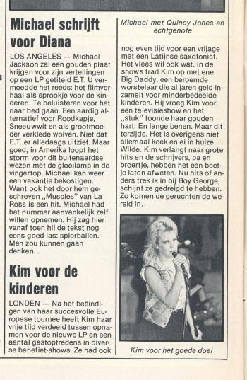Veronica (Netherlands), January 22, 1983