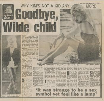 Daily Mirror (UK), August 22, 1983