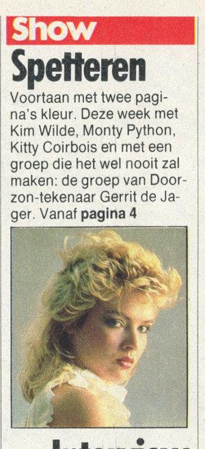 Nieuwe Revu (Netherlands), September 9, 1983