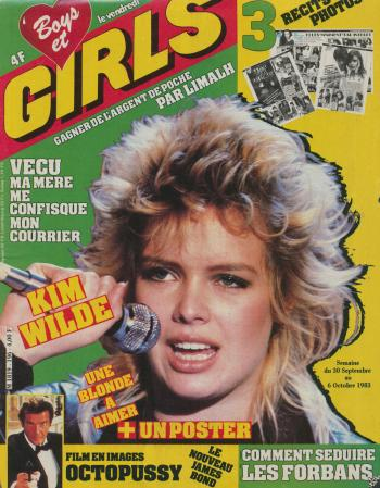 Boys et Girls (France), September 30, 1983