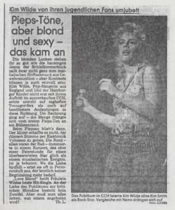 Hamburger Abendblatt (Germany), December 6, 1983