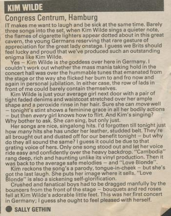 Melody Maker (UK), December 17, 1983