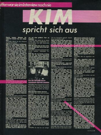 Popcorn (Germany), January 1983