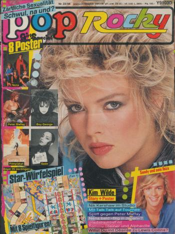 Pop/Rocky (Germany), November 8, 1984