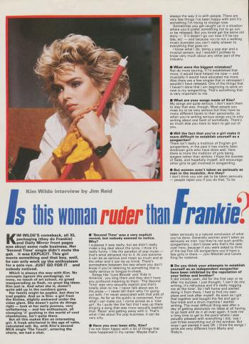 Record MIrror (UK), January 5, 1985