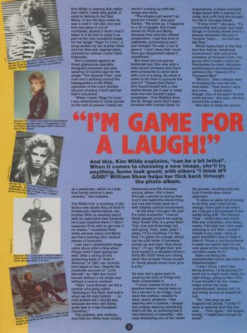 Smash Hits (UK), April 24, 1985