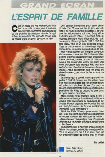 Super Tele (France), August 9, 1986