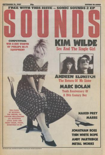 Sounds (UK), September 19, 1987