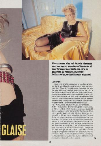 Unknown French magazine, 1987