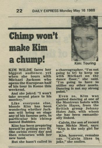 Daily Express (UK), May 16, 1988