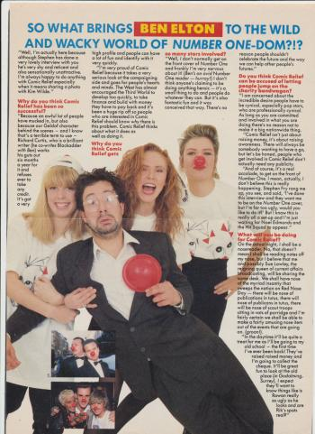 Number One (UK), March 8, 1989