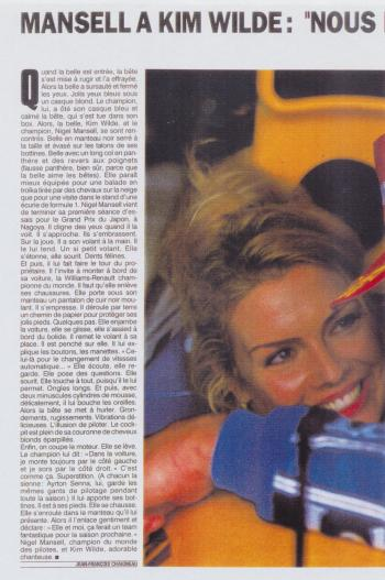 Paris Match (France), November 5, 1992