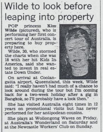 Daily Telegraph Mirror (Australia), February 23, 1994