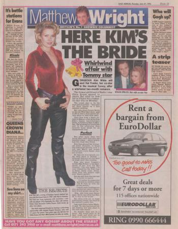 Daily Mirror (UK), June 27, 1996