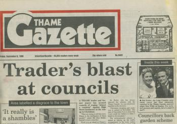 Thame Gazette (UK), September 6, 1996