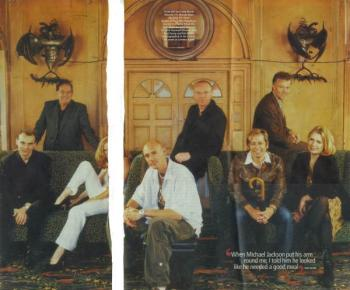 Evening Standard magazine (UK), November 2, 2001
