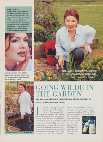 Country Living (UK), 2001
