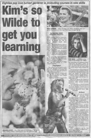 Evening Chronicle (UK), May 11, 2002