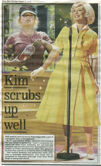 Daily Mail (UK), August 12, 2002